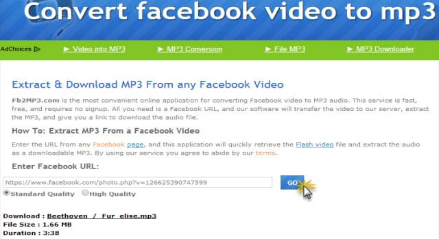 surefire ways to convert facebook video to mp3. Black Bedroom Furniture Sets. Home Design Ideas