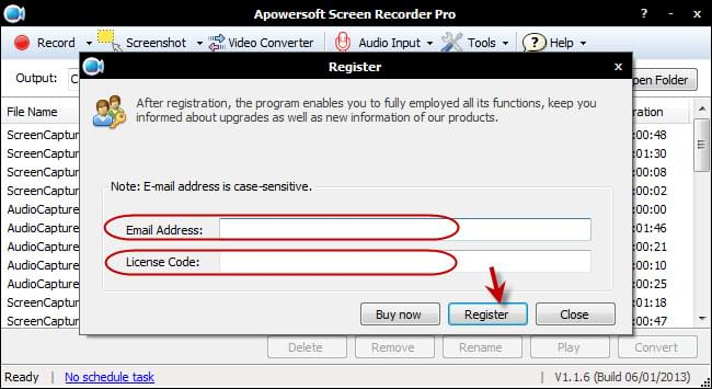 apowersoft register code