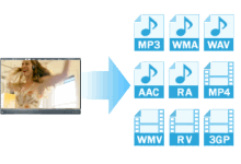 Download video in different formats
