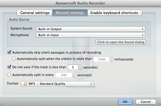 Apowersoft Audio Recorder for Mac – 音频录制软件[OS X]丨反斗限免