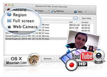 Record Screen on Mac OS