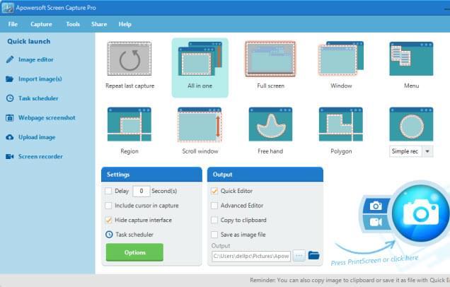 Apowersoft Screen Capture Pro – 屏幕截图软件丨反斗限免
