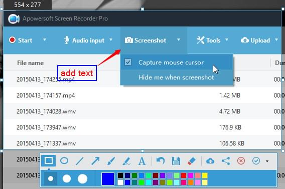 Apowersoft Screen Recorder Pro 2.4.0.20 Win/Mac Imaging Of The Screen