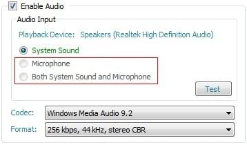 Microphone Disabled