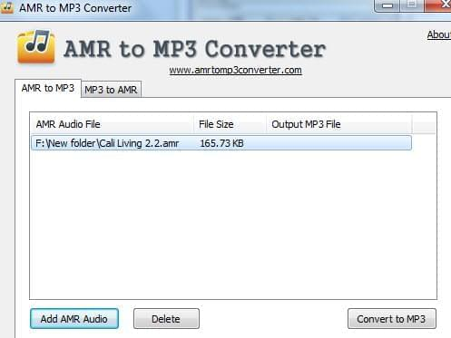 Free Amr To Mp3 Converter Convert Amr Audio To Mp3