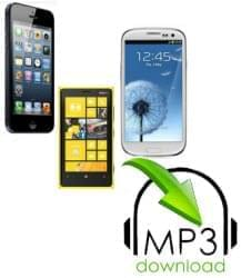 download mp3 to phone icon