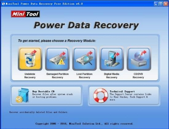 Mini tool Datenwiederherstellung