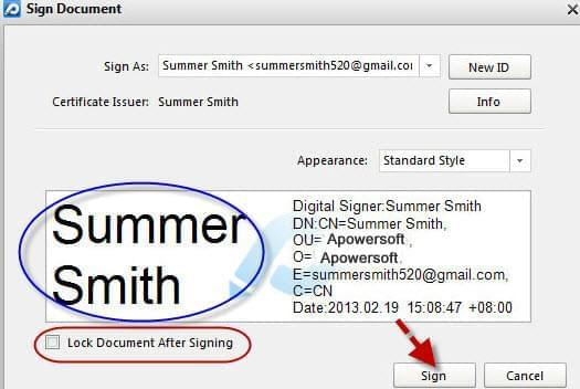 PDF signature creator – create a signature for PDF