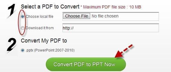free pdf to ppt converter convert pdf file to powerpoint