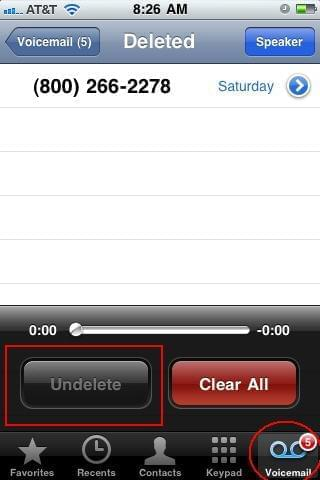 Easily recover deleted voicemail messages on iphone restore deleted voicemail from iphone 4s m4hsunfo