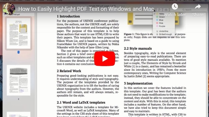 PDF Text Highlighter – Highlight Text in a PDF Document