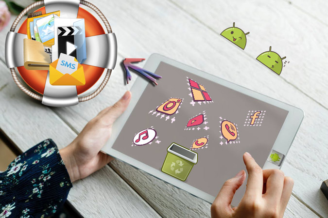Android tablet recovery – recover deleted files on Android