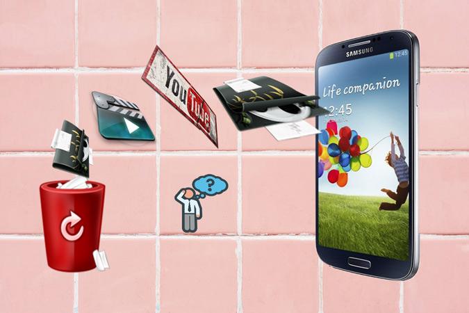 Samsung Galaxy Videos wiederherstellen