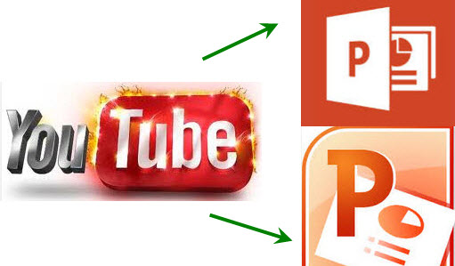 how to add youtube video into ppt