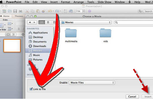 easy way to insert youtube videos into powerpoint 2010 and 2013