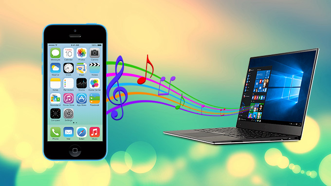 Free copy music from iPhone to computer