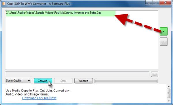 How to convert wmv to avi with winx free wmv to avi converter.