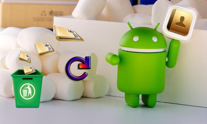 Kontakte Android wiederherstellen