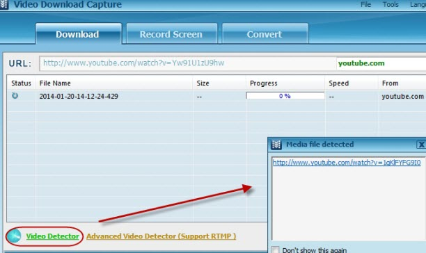 Free and efficient ways to convert url to flv to download videos that are streamed through rtmp protocol like myspace cbs hulu and many more use the advance video detector after inputting the video ccuart Images