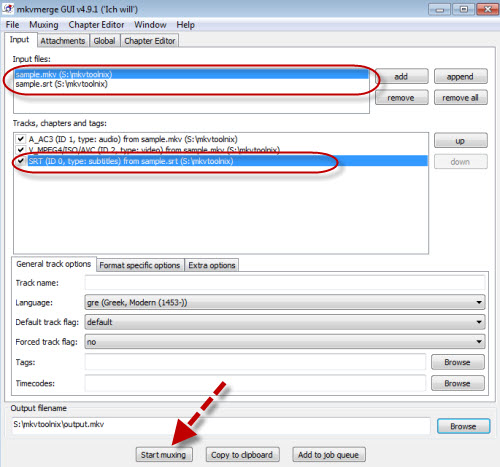 Three easy ways to add subtitles to mkv videos add subtitles with mkvmerge gui ccuart Images