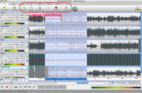 Mixcraft For Mac Record Manage And Edit Songs On Mac Easily