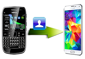 How to transfer contacts from Nokia to Samsung Galaxy S5