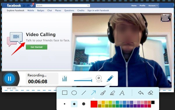 cant video call on facebook mac