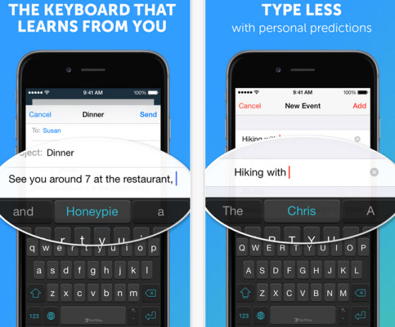 The best keyboard app to install on iOS 8