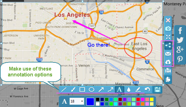 How to print screen google maps screenshot google maps on windows and mac ccuart Images