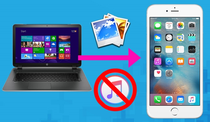 Easy Solutions to Transfer Photos to iPhone without iTunes