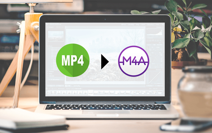 How to convert MP4 to M4A?