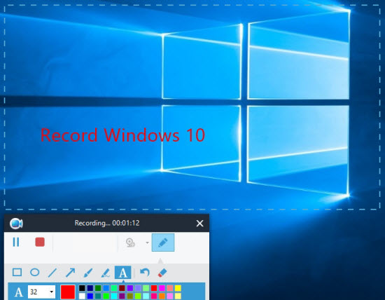 How to record Windows 10 screen effortlessly