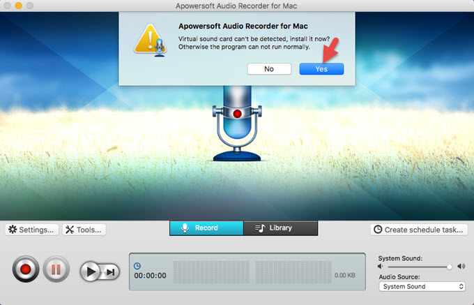 Sound recorder for mac