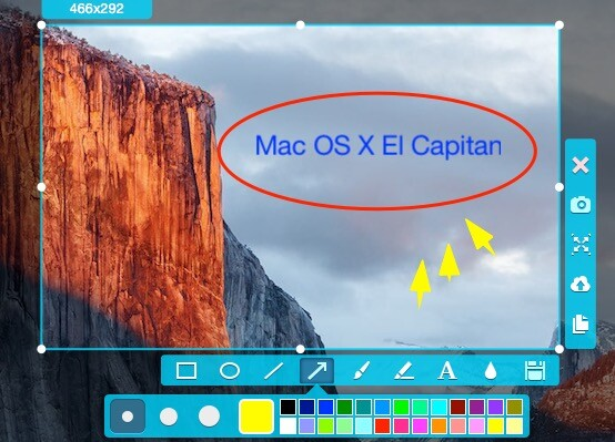 How to take a screenshot on mac os x el capitan ccuart Gallery