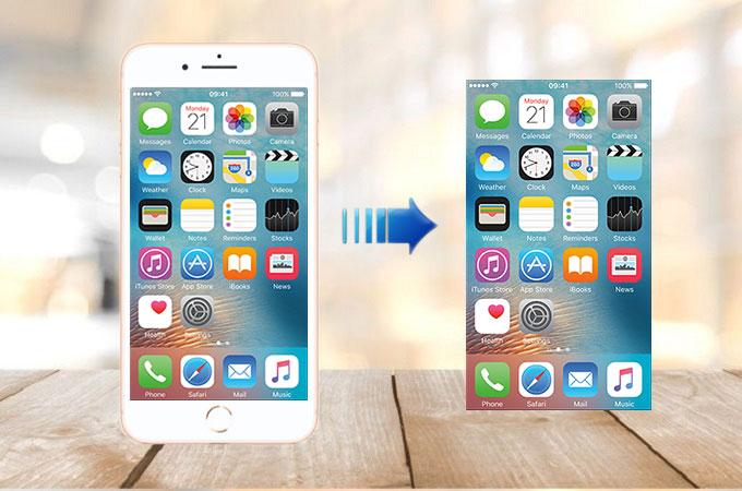 Take screenshot on mac os