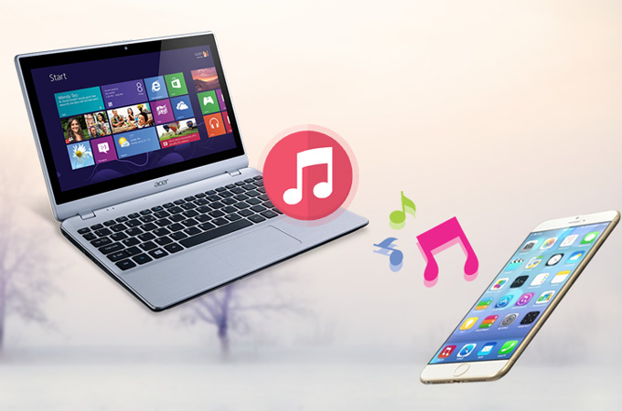 how to transfer music from pc to iphone 8