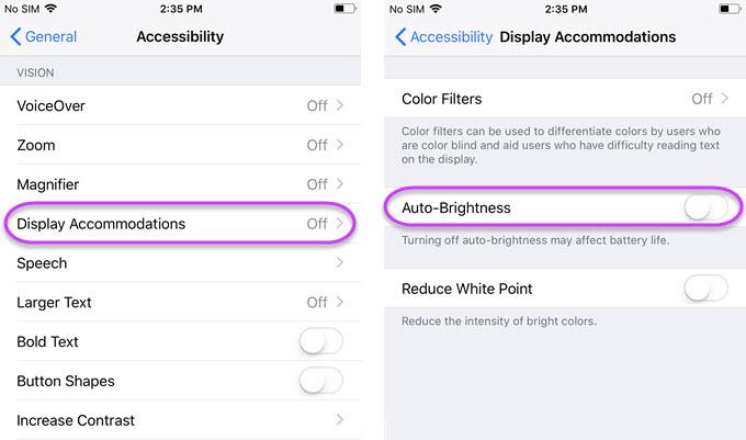 iOS 11 battery saving tips