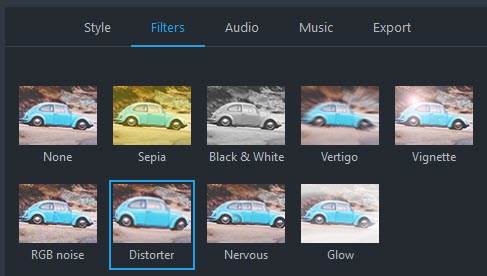 choose filter