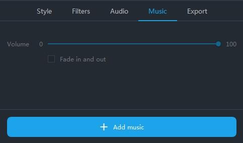 adjon hozzá osztott képernyős zenét