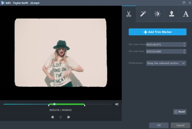 vágja le a videót