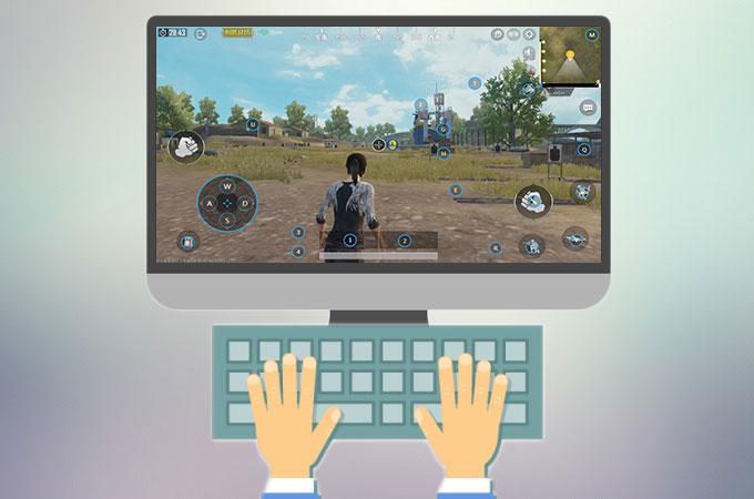 android emulator keys not working