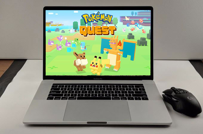 how to play pokémon quest on pc
