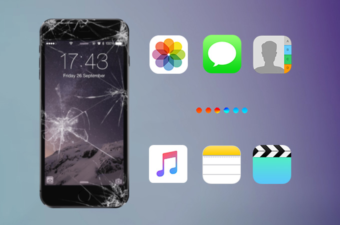 How to Recover Data from Broken iPhone?