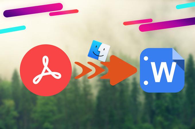 PDF Dateien zu Word auf Mac konvertieren