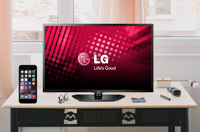 How to Mirror iPhone to LG TV?