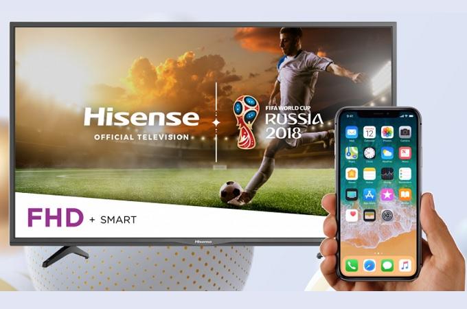 How to Mirror iPhone to Hisense TV